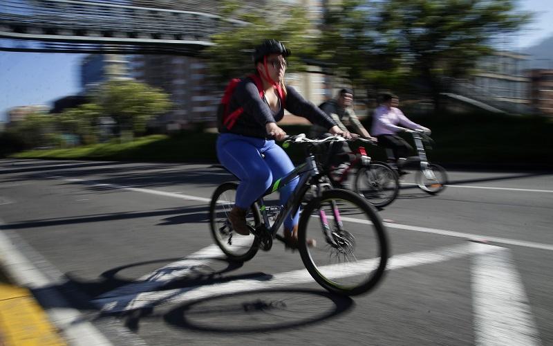 Tras las rejas venezolano sindicado de 'bajarse' a ciclista en Suba