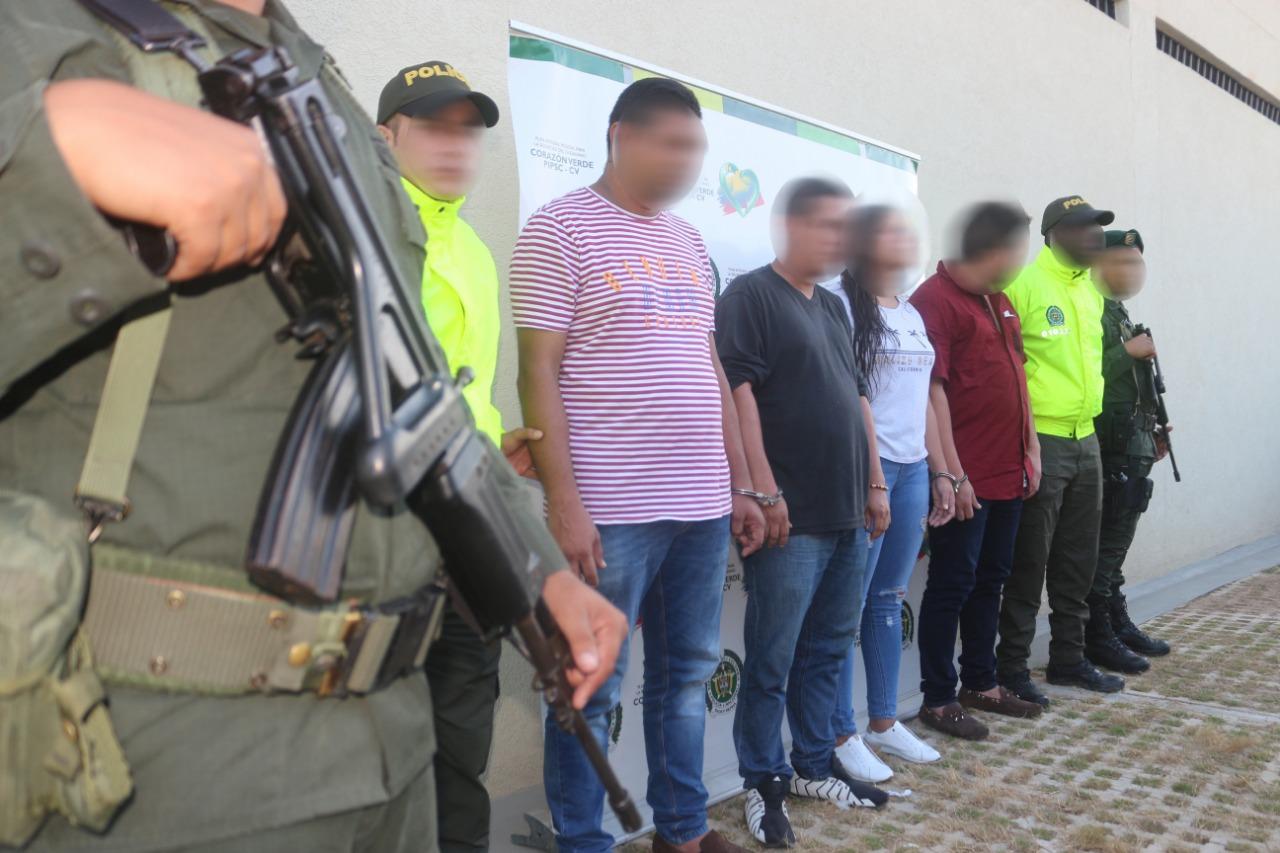En medio de 'pelotera' en Usaquén, policías encontraron tremenda empresa de 'choros'