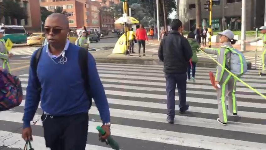 Las muertes en las vías de Bogotá están bajando