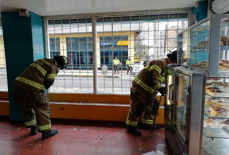 Se registró una fuerte explosión en la calle 68 con carrera 13