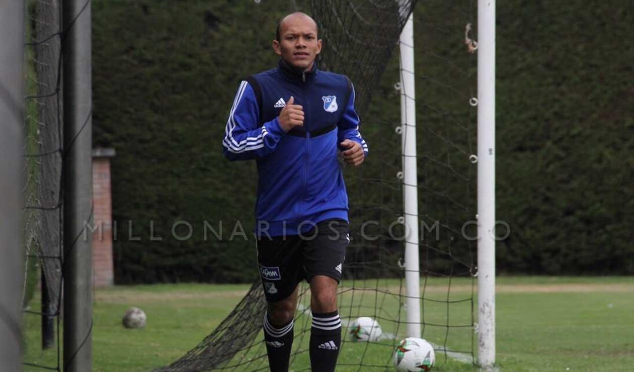¿Baja en Millonarios?, Juan David Pérez se habría lesionado