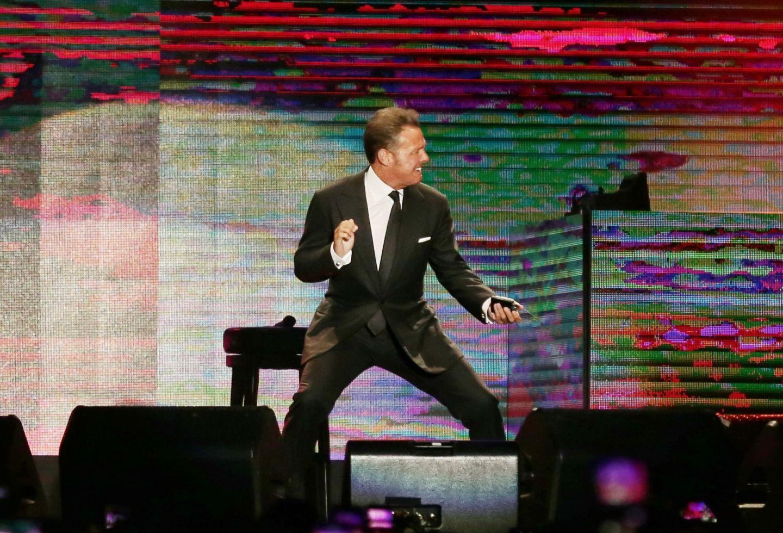 Luis Miguel se puso muy rabón durante concierto