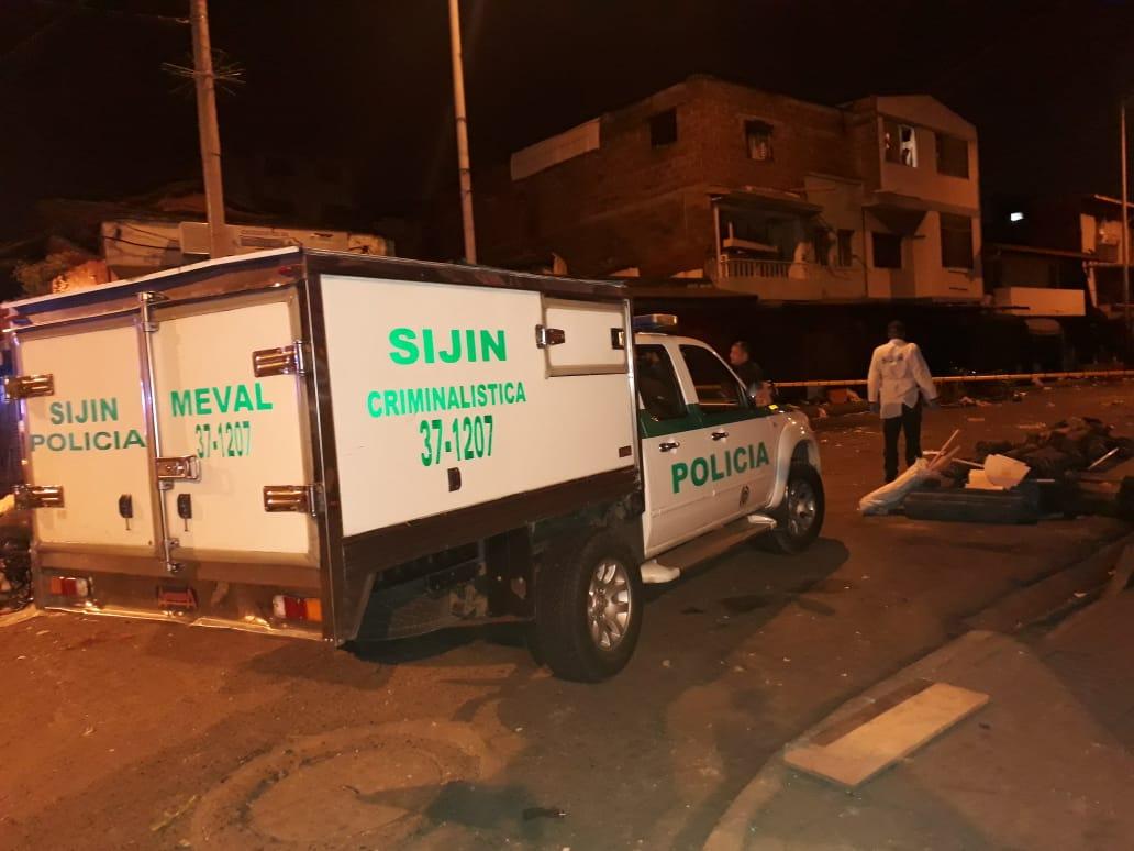Encontraron el cadáver de un joven que fue apuñalado, en Bogotá