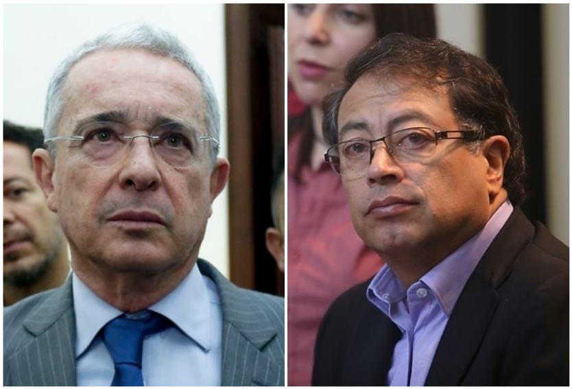 """Así fue el agarrón de Uribe y Petro que terminó con un """"sicario, sicario, sicario"""""""