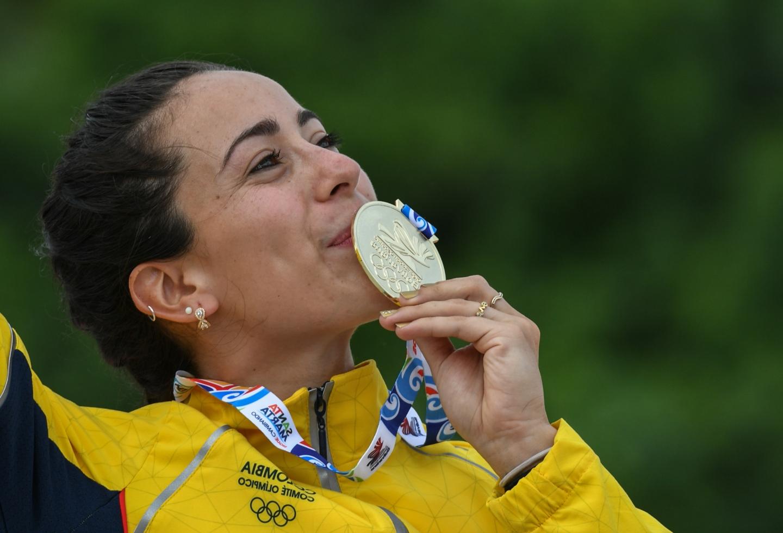 Mariana Pajón, campeona del panamericano de BMX