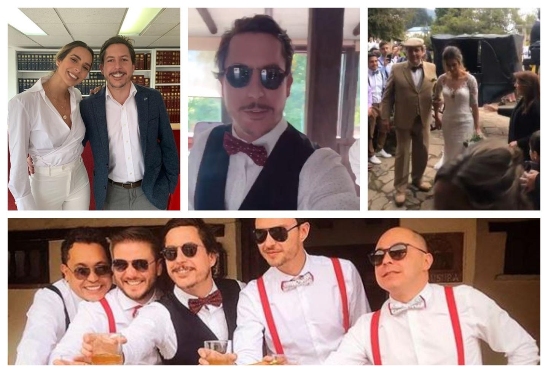 En imágenes: El comediante bogotano Alejandro Riaño se casó