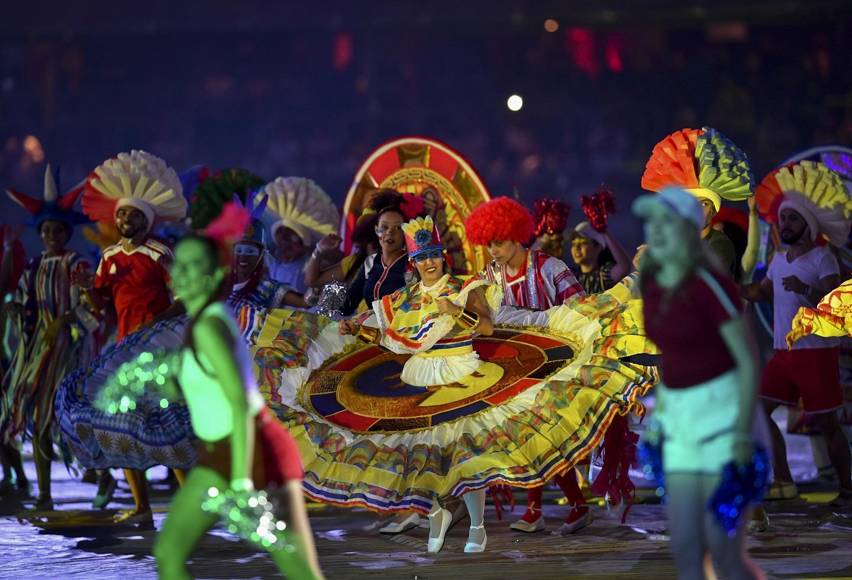 En imágenes: La cultura indígena estuvo presente en la inauguración de la Copa América