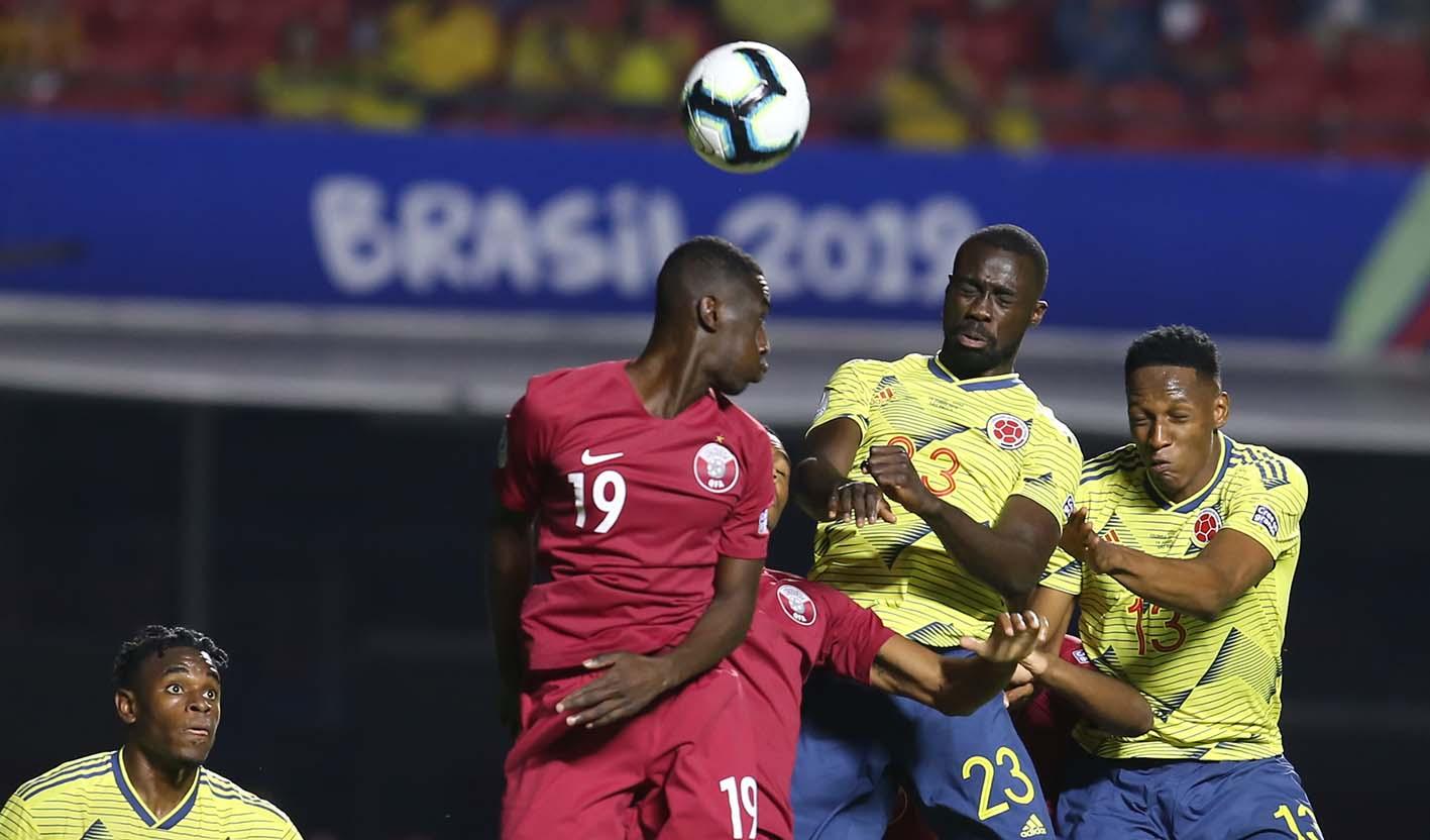 Con un sufrido 1- 0, Colombia le ganó a Catar en la Copa América