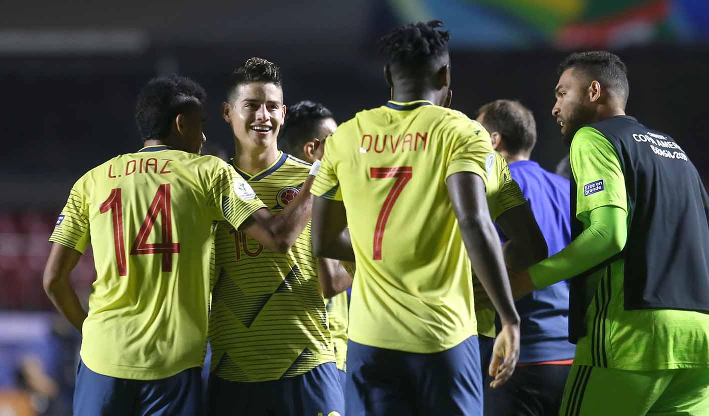 ¡Confirmadol! Así formará Colombia contra Paraguay en la Copa América