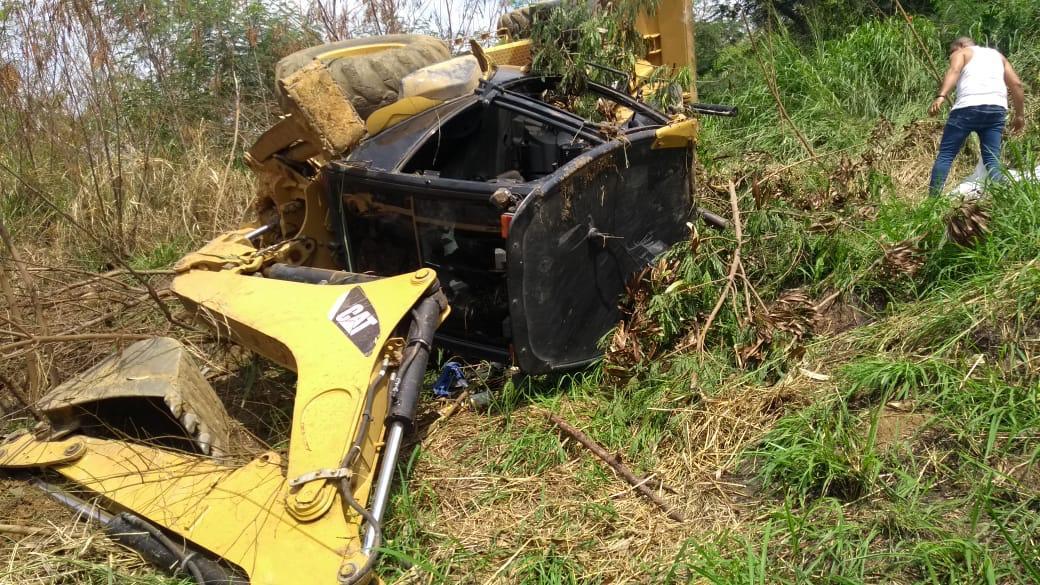 Sujeto murió en un accidente con una retroexcavadora en Yumbo, Valle