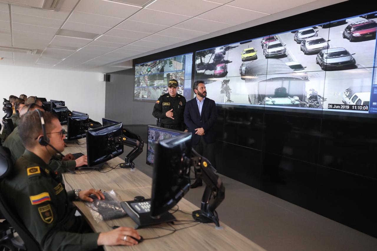Con nuevos centros de monitoreo buscan reforzar la seguridad de Bogotá