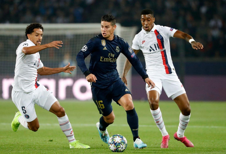 James Rodríguez será titular con el Real Madrid en duelo contra el Sevilla