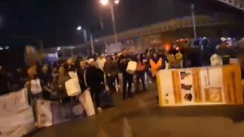 Paro 21 de noviembre: Comienzan bloqueos en diferentes puntos de Bogotá