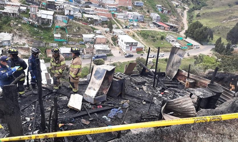 Noticias Bogotá: Niño fallece tras incendio en Ciudad Bolívar - Alerta Bogotá