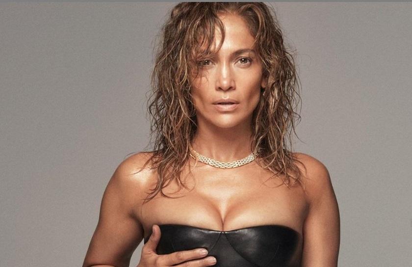 Al natural: Así es el cabello de Jennifer López