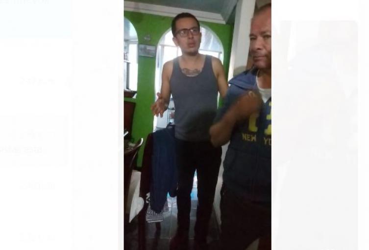 Habló el pelao detenido por la Policía y llevado en un particular