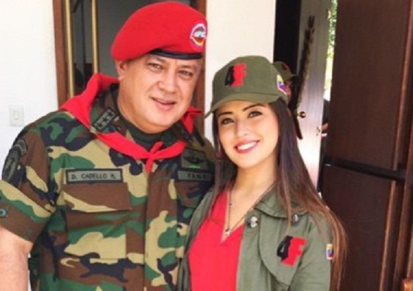 Se gastó su buena platica: Revelan fotos de la boda secreta de hija de Diosdado Cabello