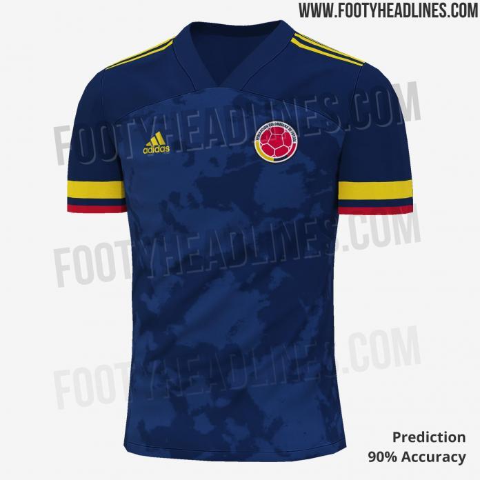 Acompañar Meseta préstamo  Filtran la que sería la nueva camiseta de la Selección Colombia   Alerta  Bogotá