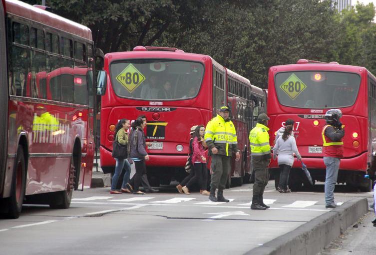 Transmilenio por la Caracas