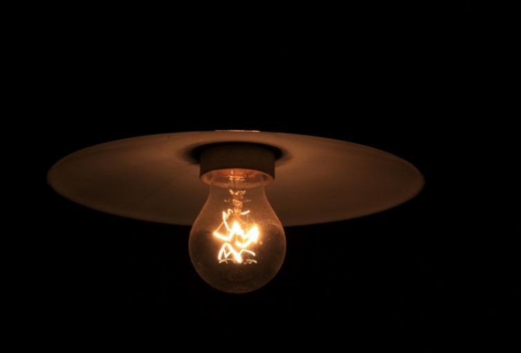 Bombilla, poca luz