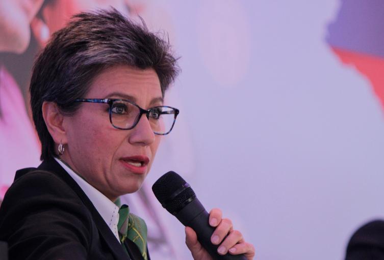 Claudia López, excongresista