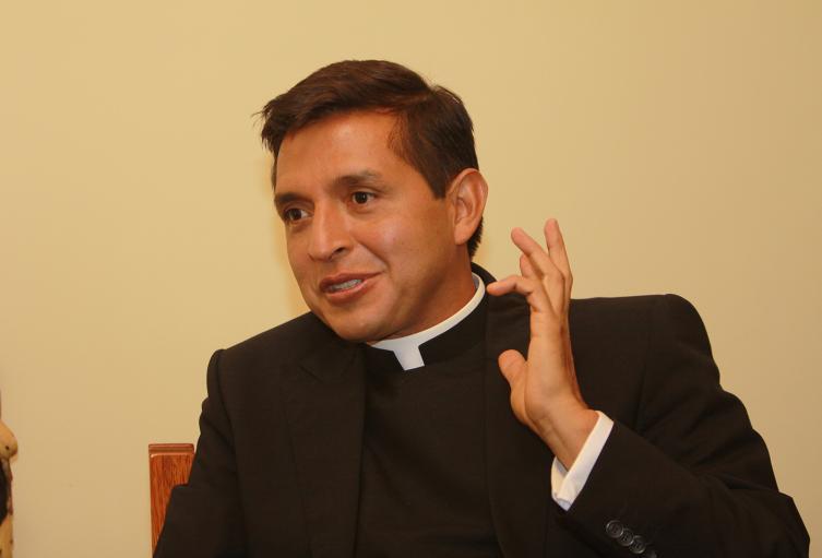 Jesús Hernán Orjuela, el padre Chucho