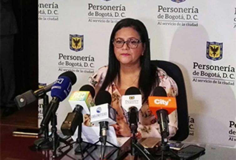 Personera de Bogotá, Carmen Castañeda