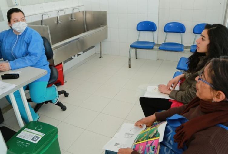 Servicio de salud en Bogotá