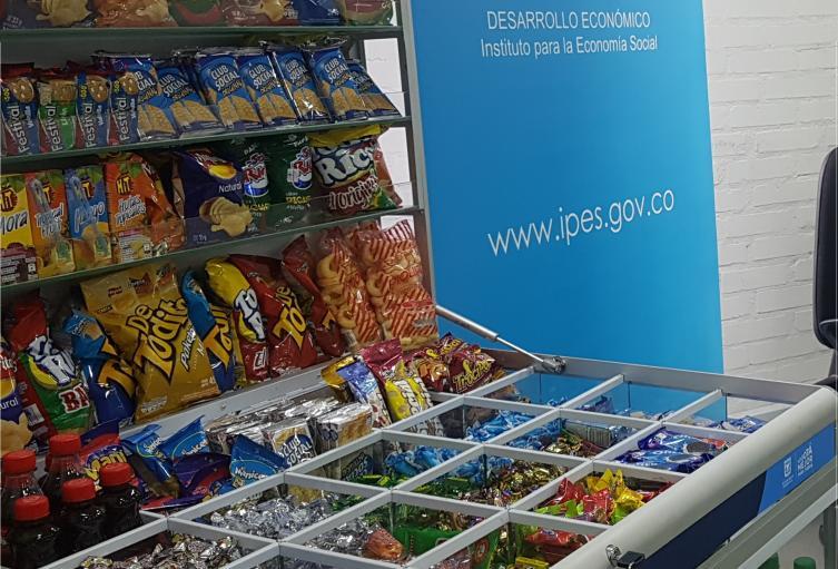 Modulo de venta de productos comestibles