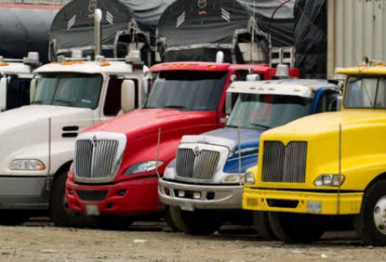 Camioneros de Boyacá se unieron al paro nacional