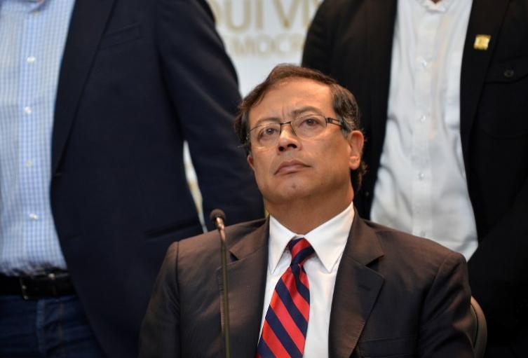 Senador Gustavo Petro