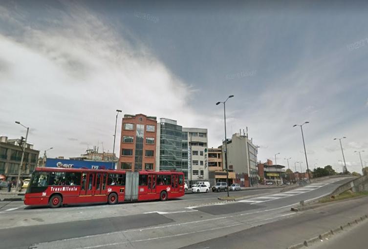 La Avenida Caracas de Bogotá sería peatonalizada.