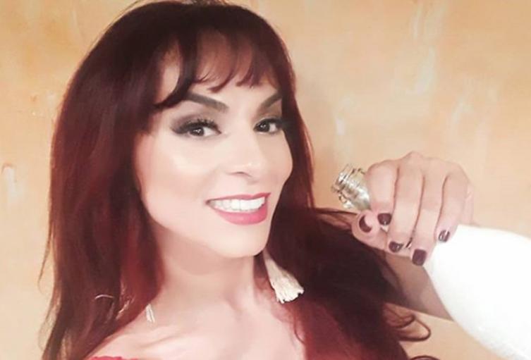 La actriz Endry Cardeño.