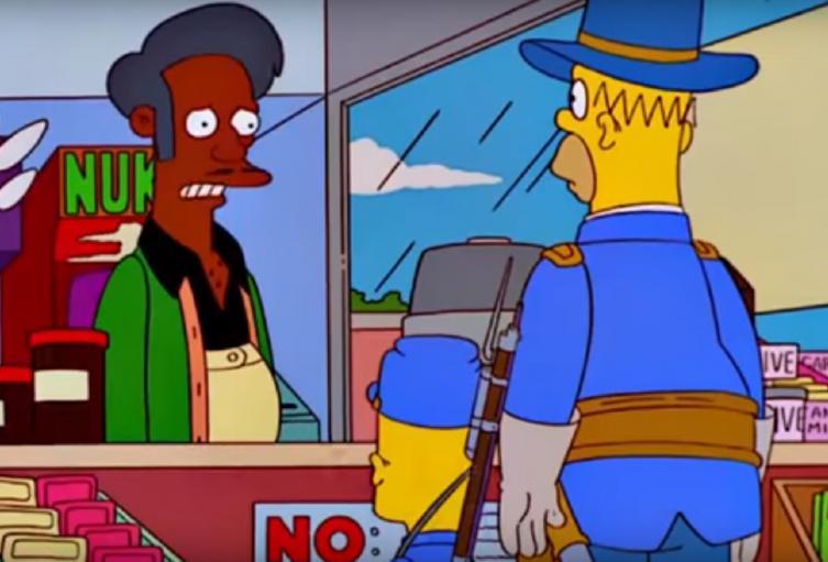 Voz de Apu en Los Simpson