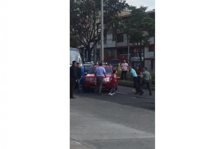 Así fue la nueva intolerancia en Bogotá.