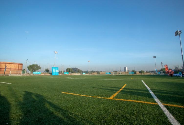 Escuela de fútbol. Imagen de referencia