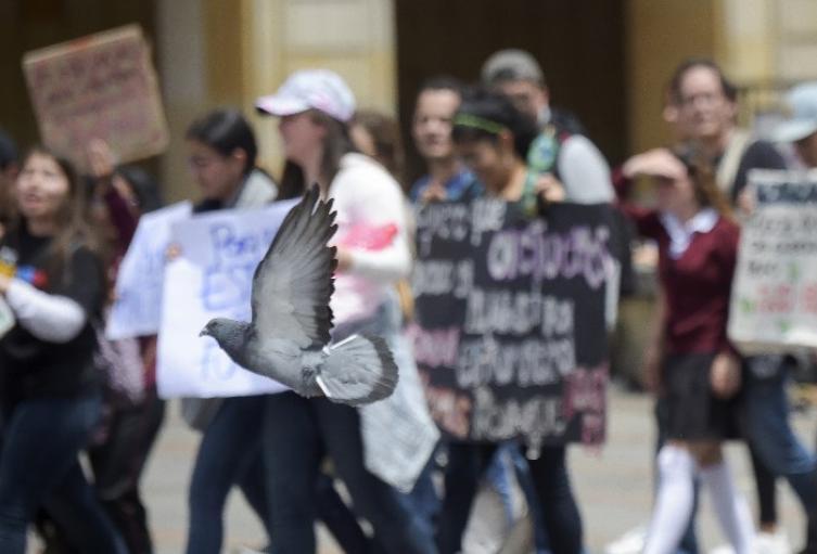Protestas imagen de referencia
