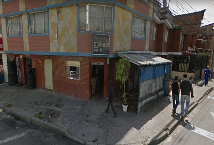 Barrio San Cayetano en la localidad de Fontibón