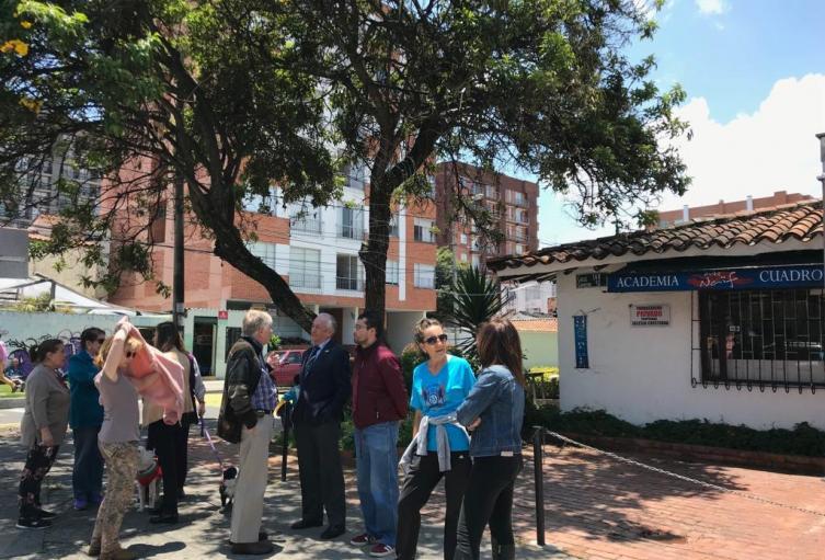 Habitantes del barrio Cedritos cansados de la inseguridad