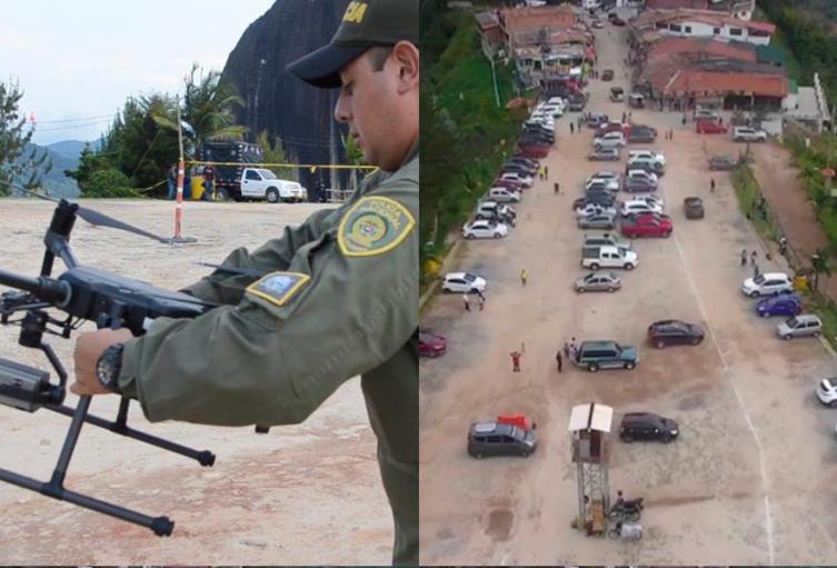 Estos dispositivos serán maniobrados por personal de aviación de la Policía.