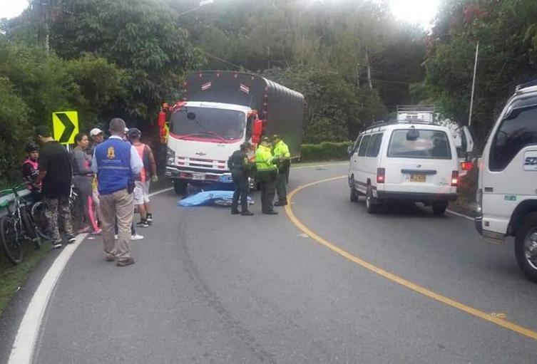Accidente de tránsito en La Ceja, Antioquia.