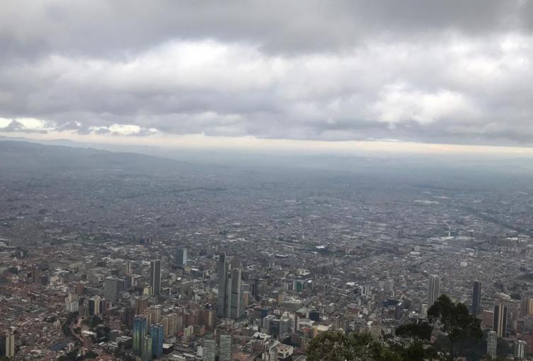 Esta es la panorámica de Bogotá del domingo 31 de marzo.