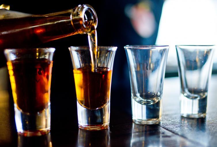 Tragos de alcohol