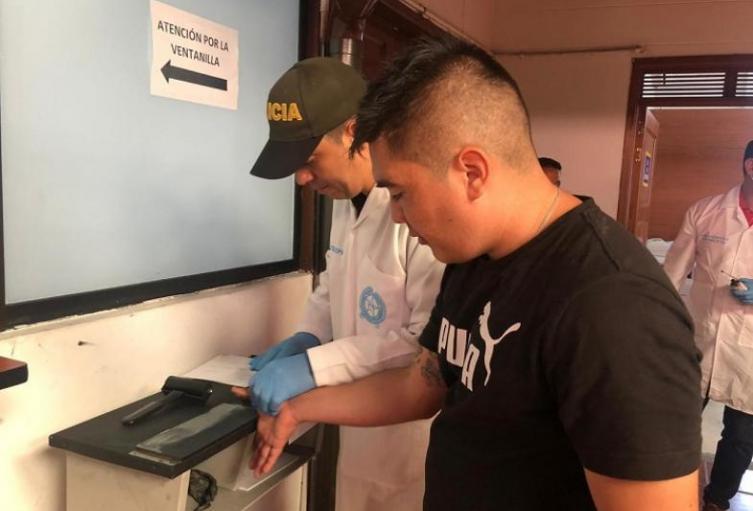 Autoridades desmienten que Juan Valderrama atentara contra su vida