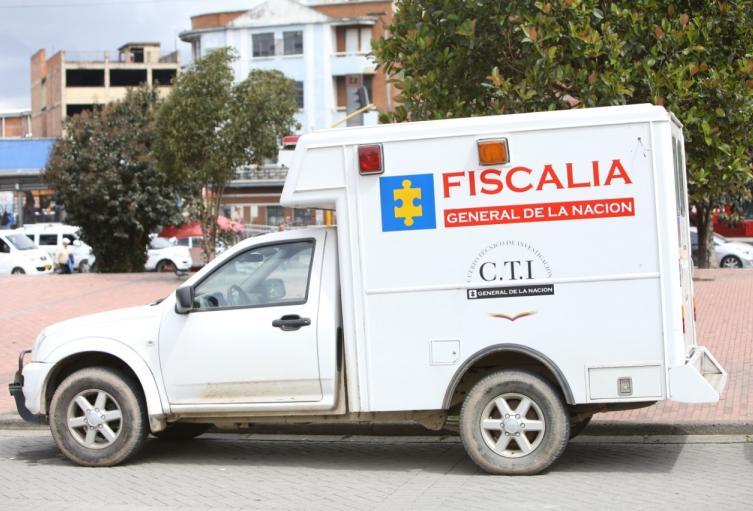 Vehículo de la Fiscalía