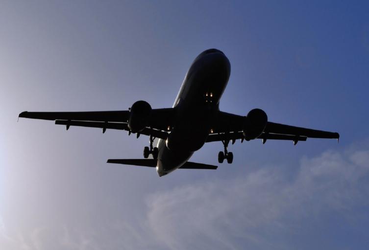 Avión. imagen de referencia.