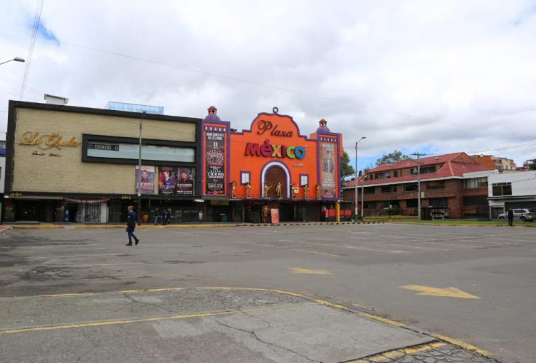 Parqueadero recuperado por el Distrito