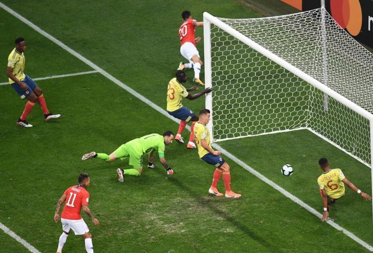Gol anulado a Chile