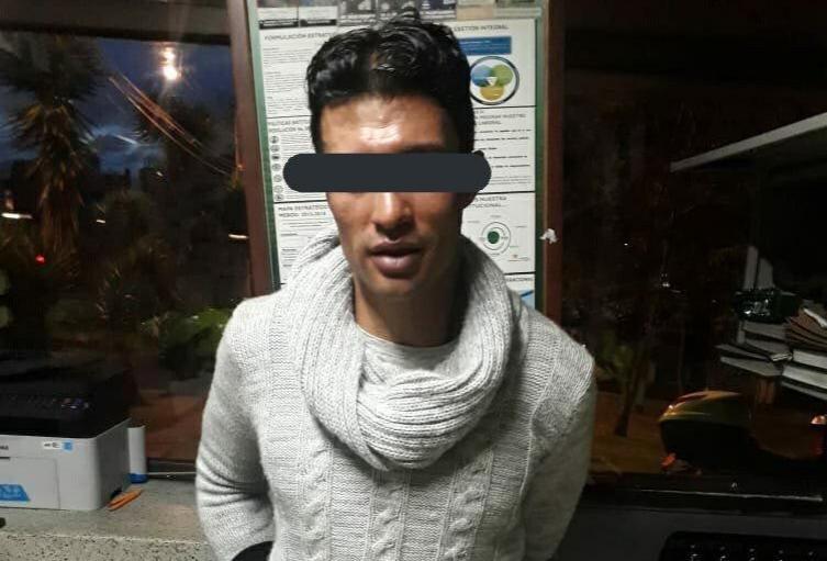 'Rompevidrios' detenido en Bogotá
