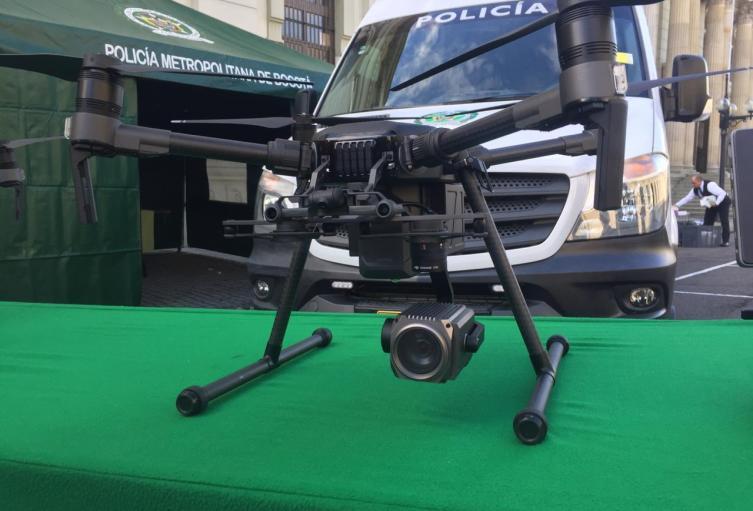 Drones Bogotá